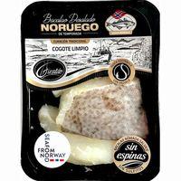 Cogote limpio de bacalao desalado Noruego GIRALDO, bandeja 360 g