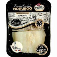 Lomo fino de bacalao desalado Noruego GIRALDO, bandeja 270 g