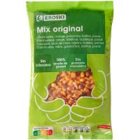 Mix de frutos secos original EROSKI, bolsa 500 g