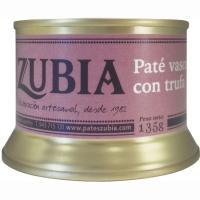 Paté vasco con trufa ZUBIA, lata 135 g