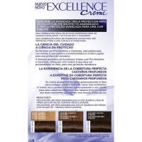 Tinte castaño N.4.00 EXCELLENCE, caja 1 ud