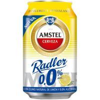 Cerveza 0,0 AMSTEL Radler, lata 33 cl