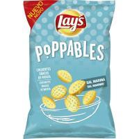 Snak de patata a la sal marina LAY`S Poppables, bolsa 75 g