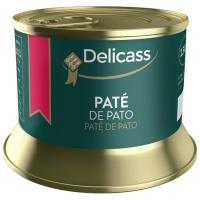 Mousse de foie de canard DELICASS, lata 130 g