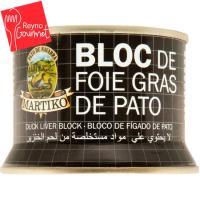 Bloc de foie gras de pato MARTIKO, lata 130 g
