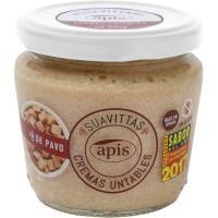 Crema de pavo sin gluten APIS, tarro 160 g