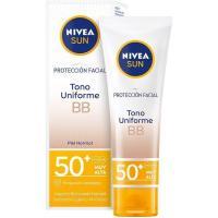 Protección solar facial BB antiedad SFP50 NIVEA, tubo 50 ml