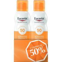 Sun duplo spray transparente FP50+ EUCERIN Solares, pack 1 unid.