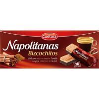 Bizcochitos de napolitanas CUÉTARA, caja 117 g