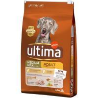 Alimento de pollo-arroz para perro adulto ULTIMA, saco 7,5 kg