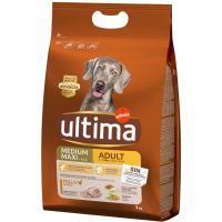 Alimento de pollo-arroz para perro adulto ULTIMA, saco 3 kg