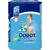 Pañal de agua 9-15 kg Talla 4-5 DODOT Splashers, paquete 11 uds