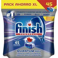 Lavavajilla máquina FINISH Quantum, bolsa 45 dosis