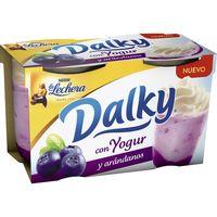 Dalky con yogur-arándanos LA LECHERA, pack 2x100 g