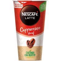 Café Shakissimo capuccino descafeinado NESCAFÉ, vaso 190 ml