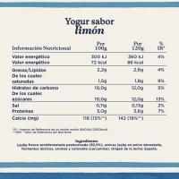 Yogur sabor a limón DANONE, pack 4x120 g