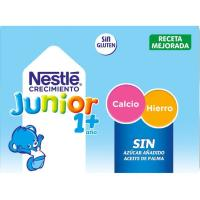Leche de Crecimeinto Junior 1+ original NESTLÉ, pack 6x200 ml