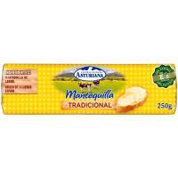 Mantequilla ASTURIANA, rulo 250 g