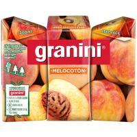 Néctar de melocotón GRANINI, pack 3x20 cl