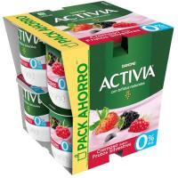 Bifi Activia 0% frutos silvestres DANONE, pack 8x120 g