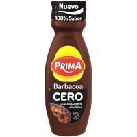 Salsa barbacoa cero PRIMA, bote 325 g