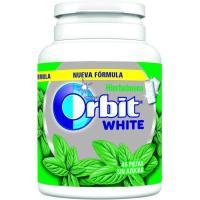 Chicle White de hierbabuena ORBIT, bote 64 g