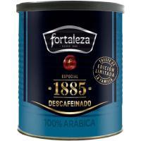 Café molido descafeinado FORTALEZA, lata 250 g