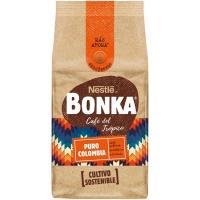 Café molido puro Colombia BONKA, paquete 220 g