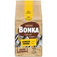 Café molido espresso natural BONKA, paquete 220 g