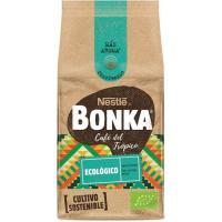 Café molido ecológico sostenible BONKA, paquete 220 g