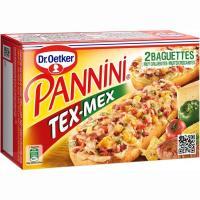 Pannini Tex-mex DR. OETKER, caja 250 g