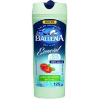 Sal esencial -50% sodio LA BALLENA, bote 125 g