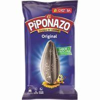 Pipas original con sal PIPONAZO, bolsa 110 g