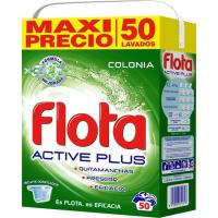 Detergente en polvo Colonia FLOTA, maleta 50 dosis