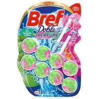 Limpiador wc manzana-lirio de agua duplo BREF, pack 1 ud.