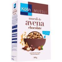 Cereales muesli de chocolate KÖLLN, caja 500 g