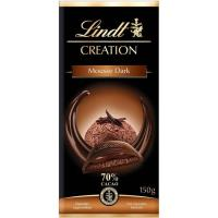 Chocolate 70% mousse LINDT Creation, tableta 150 g