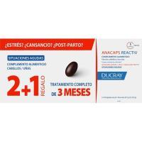 Anacaps reactive trio tratamiento 3 meses DUCRAY, caja 90 unid.