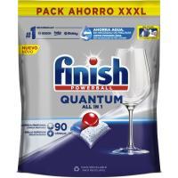 Lavavajillas FINISH Quantum, bolsa 100 dosis
