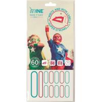 Etiquetas ropa MINE, blister 60uds