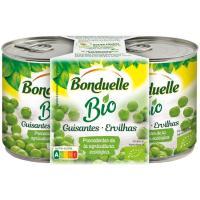 Guisante Bio BONDUELLE, pack 2x130 g