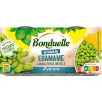 Habas de soja BONDUELLE Un Toque, pack 2x65 g