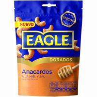 Anacardos con miel-sal EAGLE, bolsa 75 g