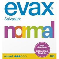 Protegeslip normal EVAX, cajas 100+8 uds
