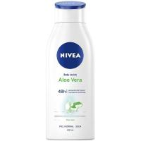 Body Lotion aloe vera NIVEA, bote 400 ml
