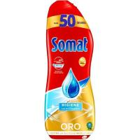 Lavavajillas máquina gel higiene SOMAT, botella 50 dosis
