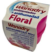 Deshumidificador/Absorbehumedad Mini Floral WANADRY, 1ud