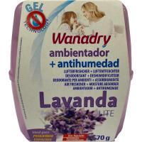 Deshumidificador/Absorbehumedad Lite Lavanda WANADRY, 1ud