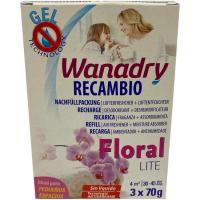 Recambio Deshumidificador/Absorbehumedad Lite Floral WANADRY, 1ud