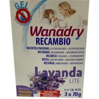 Recambio Deshumidificador/Absorbehumedad Lite Lavanda WANADRY, 1ud